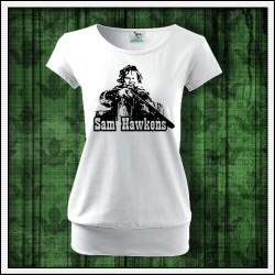 Dámske tričká s patentom Sam Hawkens