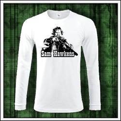 Pánske 180 g. dlhorukávové tričká Sam Hawkens