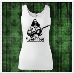 Dámske retro tielko Winnetou s puškou
