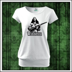 Dámske tričká s patentom Winnetou s puškou