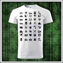 Vtipné unisex tričká Icon Speak