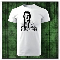 Unisex retro tricko Ribanna Rybanna