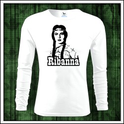 Pánske 160g. dlhorukávové tričká Ribanna