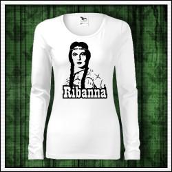 Dámske dlhorukávové tričká Ribanna