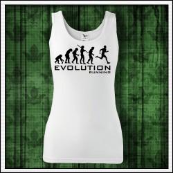 Vtipné dámske tielka Evolution Running