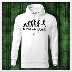 Vtipné pánske mikiny Evolution Running
