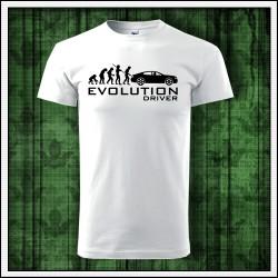 Vtipné unisex tričká Evolution Driver