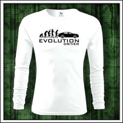 Vtipné pánske 160g. dlhorukávové tričká Evolution Driver