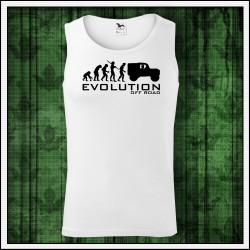 Vtipné pánske tielko Evolution Off Road
