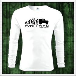 Vtipne panske dlhorukavove tricko Evolucia Off Road