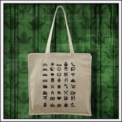 Vtipné tašky Icon Speak