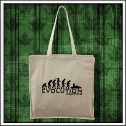 Vtipná taška prírodná Evolution Karting