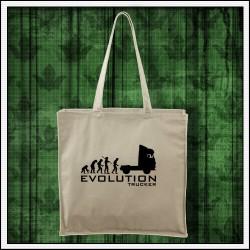 Vtipná prírodná taška Evolution Trucker