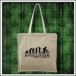 Vtipná cyklistická taška prírodná Evolution Mountain Cycling