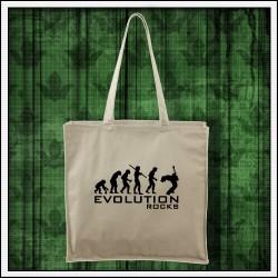 Vtipné tašky Evolution Rocks