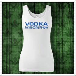 Vtipné dámske tielko Vodka, vianocny darcek