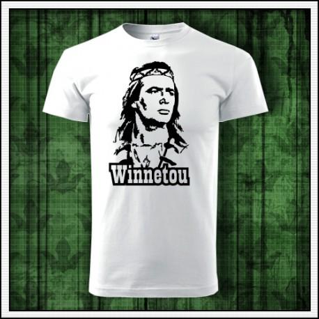 Unisex retro tričko Winnetou