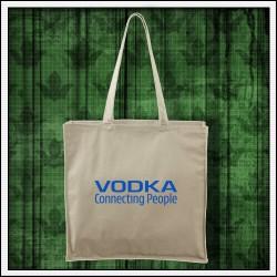 Vtipná taška Vodka prírodná