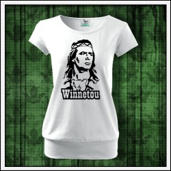 Dámske tričká s patentom Winnetou
