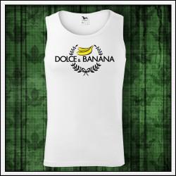 Vtipné pánske tielko Dolce & Banana