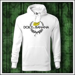 Vtipné pánska mikina Dolce & Banana