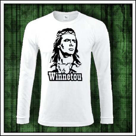 Pánske dlhorukávové tričko Winnetou