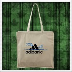 Vtipná taška Adidanic prírodná