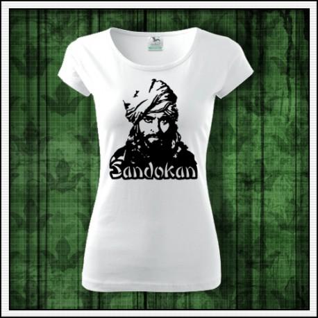 Dámske retro tričká s potlačou Sandokan