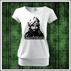 Dámske tričko s patentom Sandokan