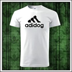 Vtipné detské tričko s potlačou Adidog