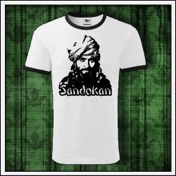 Unisex dvojfarebné tričká Sandokan
