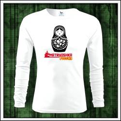 Pánske dlhorukávové tričko Matrioška
