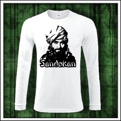 Pánske dlhorukávové tričká Sandokan