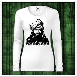 Dámske dlhorukávové tričká Sandokan
