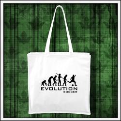 Vtipná taška Evolucia futbalu