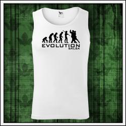 Vtipné pánske tielko Evolution Salsa