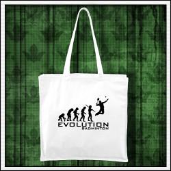 Vtipná taška Evolúcia bedmintonu