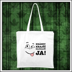 Vtipná taška Krásny krajší najkrajší JA