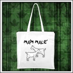 Vtipná taška Mám malé kozy, vianočný darček