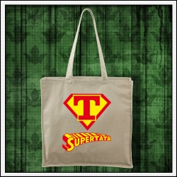 Vtipná taška pre otca Supertata