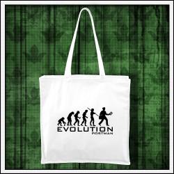 Vtipná taška Evolúcia poštára
