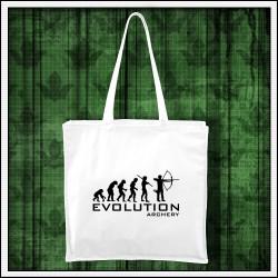 Vtipna taška Evolucia lukostrelby