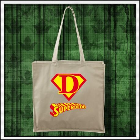 Vtipná taška Superdedo darček na meniny pre deda