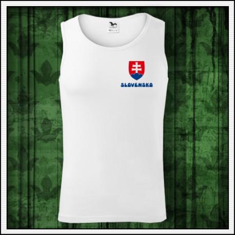 Oblečenie so slovenským znakom pánske tielko