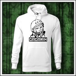 Pánska biela mikina Gagarin