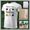 Vtipné tričko Človeče nehnevaj sa 4 - unisex