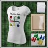 Vtipné tričko Človeče nehnevaj sa 4 - dámske