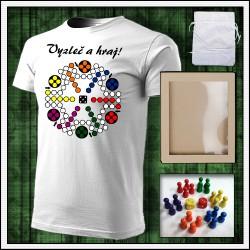 vtipné tričká s potlačou Človeče nehnevaj sa, vtipný darček, vtipné tričko, humorné darčeky.