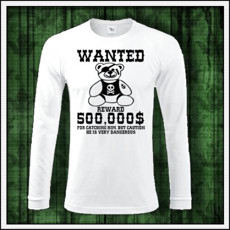Vtipné tričko plyšový macko ako vtipný darček pre dospelých na vianoce