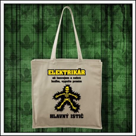 Vtipná taška Elektrikár